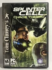 Tom Clancy's Splinter Cell Chaos Theory PC Game New Shipped fast/free!