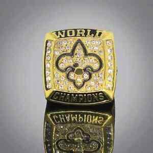 2009 New Orleans Saints NFL Championship rings