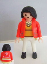 PLAYMOBIL (Y3229) HOPITAL - Femme Médecin Ambulancier 4221