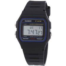 Reloj digital retro Casio-Correa de resina, Alarma, Cronómetro & Luz De Fondo