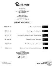 Beechcraft Musketeer,Sport Sundowner Sierra Repair Manual archive rare detail