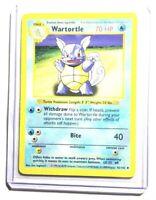 WARTORTLE - 42/102 - SHADOWLESS Base Set - Pokemon Card - EXC / NM
