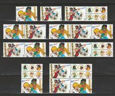 Nederland Stockkaart Zegels en Combinaties uit Postzegelboekjes 62 Postfris