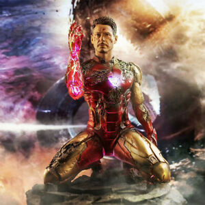 GK Statue 16cm Iron Man MK85 Avengers Endgame PVC Figure New Loose