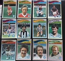 Frank Lampard West Ham United 1978 Topps Chewing Gum Collector Card