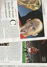 SP26 Clipping-Ritaglio 2010 Wayne Rooney Ora che il mio bimbo dorme posso..