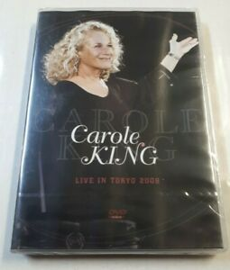 Carole King – Live In Tokyo 2008 DVD (NTSC) Immortal 2013 NEW/SEALED