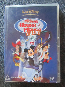 DVD MICKEY'S HOUSE OF MOUSE VILLAINS  GREAT  **** MUST SEE ****