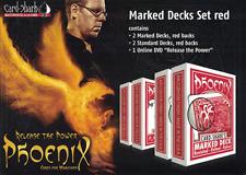 Phoenix Marked Deck Set - Rosso - Trucchi con le carte - Giochi di Magia