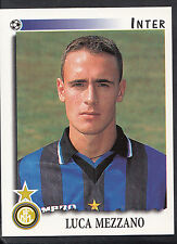 Panini calciatori football 1997 sticker, nº 136, inter milan-luca Mezzano