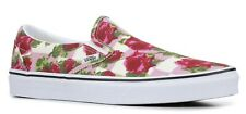 VANS CLASSIC SLIP ON (ROMANTIC FLORAL) PINK CANVAS SHOES SZ 7 WOMENS NEW NIB⚡️
