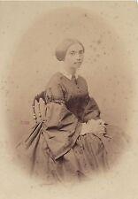 Gustave Le Gray Portait d'une femme à identifier Vintage albumine ca 1855