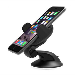 Car Windshield and Dashboard Mount Cell Phone Holder Phone Stand Suction Cup Hol