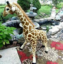 Melissa & Doug Giant Giraffe Lifelike Plush Stuffed Animal over 4 feet tall