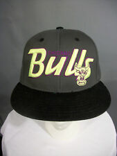 47 Brand Hardwood Classics Chicago Bulls Windy City Neon Cap Hat Snapback NWOT