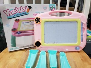 Kids Drawing Board Writing Sketch Pad Erasable Magna Doodle Toys Yuewei