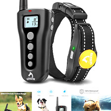 Patpet Dog Training Collar with Remote Rechargeable Waterproof Shock Collar f.
