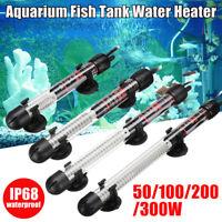 50/100/200/300W Aquarium Fish Tank Automatic Water Thermostat Heater W/ Cups