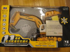 New Hui Na Toys Remote Control Full Function R/C Excavator w/ Lights and Sounds