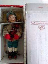 """Ashton Drake   -   """"BRIAN""""  -  'WINTERFEST'  -  porcelain doll   -  1991"""