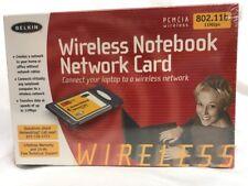 Belkin Wireless Notebook Network Card 802.11b 11Mbps CardBus Wireless NEW