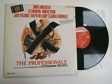 THE PROFESSIONALS SOUNDTRACK LP VINYL Rare Original Album Film OST Maurice Jarre