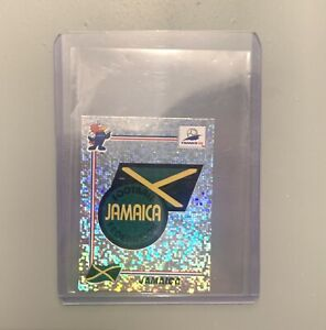 JAMAICA LOGO/BADGE and PLAYER France 98 World Cup Sticker Bundle
