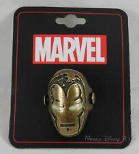New Marvel Iron Man Helmet Logo Cosplay Ring Genuine Licenced Size 8