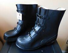"""LaCrosse Footwear 12"""" Tracktion Overshoe Men's Fleece Lined 4 Buckle Size 12 Nib"""