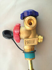 Refrigeration Gas Air Conditioning Gas Tank Single Outlet SCG Valve 3.4Mpa &Tube