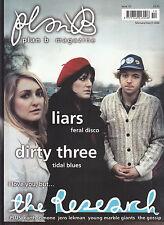 plan b music magazine  #10 2/3 2006 the research liars dirty three the gossip