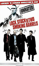 Lock, Stock and Two Smoking Barrels (DVD, 2006, Unrated Directors Cut Widescreen)
