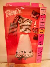 Barbie Fashion Avenue Eyeglasses Icon 2002 25701 Striped blouse, tulip skirt
