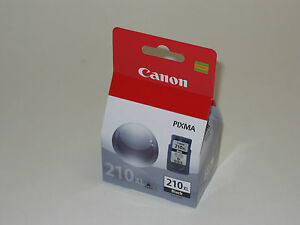 Genuine Canon PG-210 XL PIXMA printer ink MX340 MX350 MX330 MX360 MX410 MX420