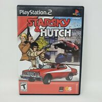 Starsky & Hutch (Sony PlayStation 2 PS2, 2003) Complete Manual Tested Works CIB