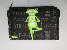 MINITASCHE  Tatü-Tasche Geldbörse  Kundenkarten  Kosmetik Hygiene  Yoga - FROSCH