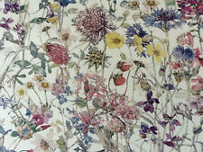 WILD FLOWERS  A  30  CMS by LIBERTY on TANA LAWN COTTON
