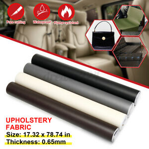 200x44cm PU Upholstery Fabric Auto Leather Sofa Seat Repair Replace Patch Up