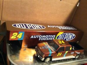 DUPONT Chevy 1 ton Dually trailer 1:24 Truck Action Jeff Gordon #24 loose