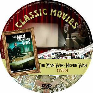The Man Who Never Was (1956) Public Domain Film Supplied On DVD Free Post