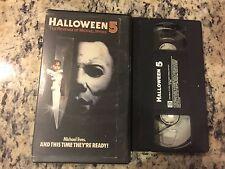 HALLOWEEN 5 THE REVENGE OF MICHAEL MYERS OOP VHS HORROR SLASHER DANIELLE HARRIS!