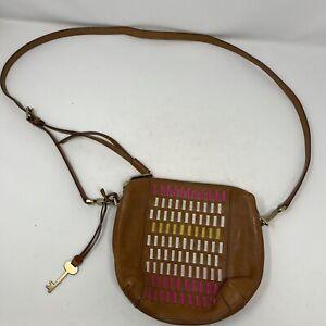 Fossil Maya Genuine Leather Small Crossbody Bag