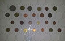 Mixed lot of European coins money 1962-2002 years