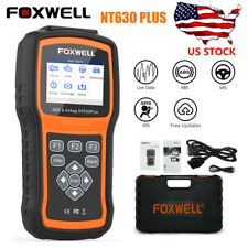 Foxwell Auto OBD2 Scanner ABS SAS Airbag Reset Engine Diagnostic Tool NT630Plus