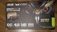 ASUS STRIX GTX980-DC2OC-4GD5 256 Bit NVIDIA GTX 980 tarjeta de gráficos