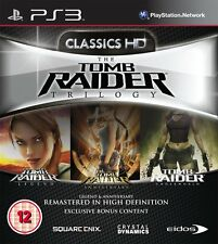 Ps3 jeu tomb raider trilogy HD avec Legend & Anniversary & underworld neuf