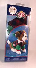 Playful Puppy PJs Elf on the Shelf Elf Pets Clothing Plaid Pajamas Hat Adorable