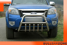 FORD RANGER II 2009-2011 TUBO PROTEZIONE MEDIUM BULL BAR INOX STAINLESS STEEL