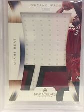 2012-13 DWYANE WADE IMMACULATE COLLECTION LOGOS MIAMI HEAT 1/12 BGS 9 MINT