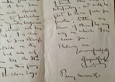 Autograph letter signed by Irish author CAPTAIN MAYNE REID to Youth's Companion